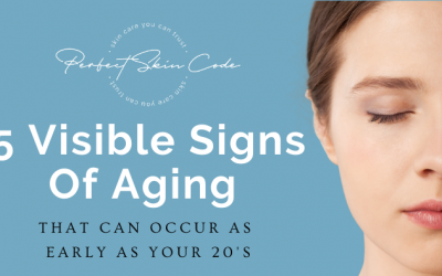 5 Visible Signs Of Aging That Can Occur As Early As Your 20's