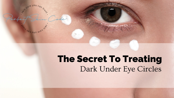 How can I get rid of dark eye circles?